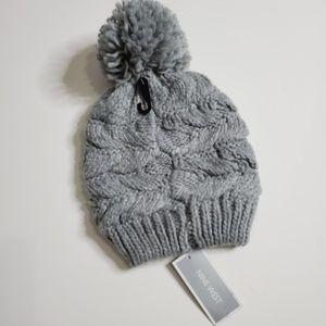 🆕️ Nine West Womens Pompom Beanie Hat